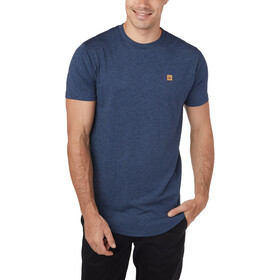tentree Standard SS Tee Men dark ocean blue heather